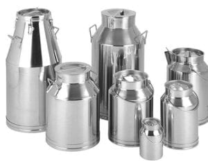 Hygienic Stainless Steel Chemical and Dairy Churns