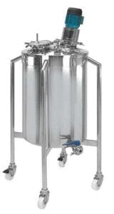 Hygienic Stainless Steel Mixing Containers Vessels