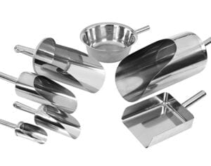 Hygienic Stainless Steel Pharmaceutical and Catering Scoops