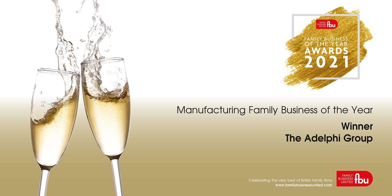 Adelphi Crowned UK Manufacturing Champion