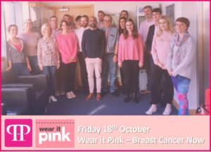 Wear it Pink - Pharma Hygiene Products Charity Day